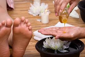 massage des pieds